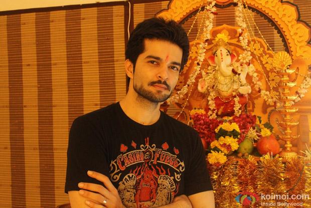 Raqesh Vashisht aka Rohan of Hongey Judaa Na Hum