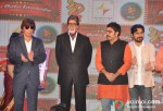 Razzak Khan, Rajpal Yadav Amitabh Bachchan Ashutosh Rana Yashpal Sharma At Ata Pata Lapata Movie Music Launch
