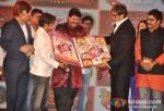 Razzak Khan, Rajpal Yadav, Amitabh Bachchan, Ashutosh Rana At Ata Pata Lapata Movie Music Launch