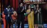 Remo D'souza, Karan Joher, Madhuri Dixit, Kareena Kapoor Visits The Sets Of Jhalak Dikhla Jaa At Filmistan Studios