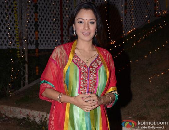 Rupali Ganguly aka Pinky of Parvarrish