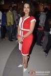 Sai Lokur Attends The Premier Of No Entry Pudhe Dhoka Aahe At Fun Cinemas