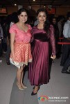 Sai Tamhankar, Kranti Redkar Attends The Premier Of No Entry Pudhe Dhoka Aahe At Fun Cinemas