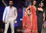Saif Ali Khan And Sonakshi Sinha Walks The Ramp For Aamby Valley India Bridal Fashion Week 2012 Day 2