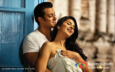 Salman Khan And Katrina Kaif (Ek Tha Tiger Movie Stills)