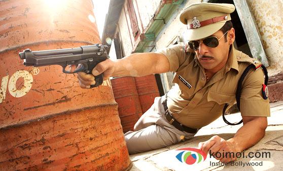 Salman Khan in Dabangg Movie Stills