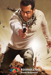 Salman Khan (Ek Tha Tiger Movie Poster)