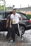 Sanjay Dutt Snapped At Airport