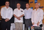 Sanjay Rishi, Shyam Benegal, Sanjeev Lambal, Ramesh Sippy At 14th Mumbai Film Festival 2012 Curtain Raiser