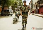 Shah Rukh Khan In An Army Outfit in Jab Tak Hai Jaan Movie Stills