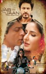 Shah Rukh Khan, Katrina Kaif and Anushka Sharma in Jab Tak Hai Jaan Movie Poster