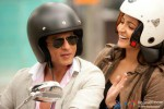 Shah Rukh Khan and Anushka Sharma smiles in Jab Tak Hai Jaan Movie Stills