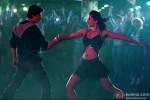 Shah Rukh Khan and Katrina Kaif dancing to the tunes in Jab Tak Hai Jaan Movie Stills