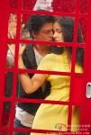 Shah Rukh Khan and Katrina Kaif in a super romantic scene in Jab Tak Hai Jaan Movie Stills