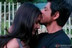 Shah Rukh Khan kissing Anushka Sharma in Jab Tak Hai Jaan Movie Stills