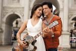 Shah Rukh Khan teaching Katrina Kaif how to play the guitar in Jab Tak Hai Jaan Movie Stills