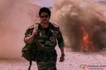 Shah Rukh Khan walks as bombs keep exploding in Jab Tak Hai Jaan Movie Stills