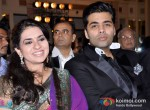 Shaina NC And Karan Johar At Giant Awards