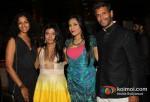Sheetal Mallar, Pragya Tiwari, Arti Surendranatha and Milind Soman At Launch The Big Indian Picture Website