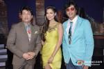 Shekhar Suman, Esha Gupta, Chunky Pandey On The Sets Of Laugh India Laugh