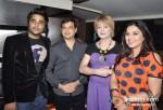 Shiddarth Anand, Bobby Darling At The Bollywood Miro Lounge Theme Nights Launch At Svenska Design Hotel