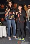 Shilpa Shetty and Mary Kom At SFL (Super Fight League) Press Meet