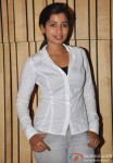 Shreya Ghoshal at Recording for Sony TV Serial Bade Achhe Lagte Hain