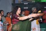 Shreya Narayan At Tv9's Eco-Friendly Green Ganesha