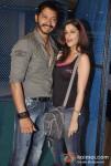 Shreyas Talpade And Madhhurima Banerjee Promote Kamaal Dhamaal Malamaal Movie At R City Mall