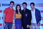 Sidharth Malhotra, Alia Bhatt, Karan Johar and Varun Dhawan At Aircel Presents Buddy Of The Year Trophy