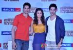 Sidharth Malhotra, Alia Bhatt and Varun Dhawan At Aircel Presents Buddy Of The Year Trophy
