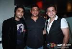 Sidhartha Anand, Aslam Shaikh and Bunny At The Bollywood Miro Lounge Theme Nights Launch At Svenska Design Hotel