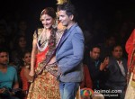 Soha Ali Khan Walks for Vikram Phadnis at Amby Valley Bridal week