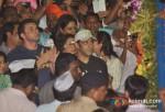 Salman Khan's Ganpati Visrajan