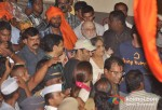 Sohail Khan, Salma Khan At Salman Khan's Ganpati Visrajan