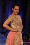 Sonakshi Sinha At 'Mijwan-Sonnets in Fabric' fashion show