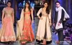 Sonakshi Sinha, Priyanka Chopra, Parineeti Chopra and Imran Khan At 'Mijwan-Sonnets in Fabric' fashion show