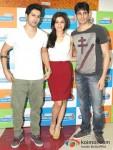 Varun Dhawan, Alia Bhatt and Sidharth Malhotra Student Of The Year Movie Music Launch At Radio City 91.1 FM
