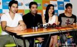 Varun Dhawan, Karan Johar, Alia Bhatt and Sidharth Malhotra Student Of The Year Movie Music Launch At Radio City 91.1 FM