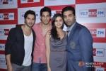 Varun Dhawan, Sidharth Malhotra, Alia Bhatt and Karan Johar At Student Of The Year Movie Celebrate Teacher's Day With 92.7 Big FM
