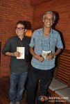 Vinay Pathak and Sudhir Mishra Attend The Book Launch Of Minty Tejpal's Book At Cafe Mangii