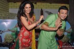Vivek Oberoi And Mallika Sherawat Promoting Kismet (Kismat) Love Paisa Dilli Movie At Pritam Da Dhaba Pic 4