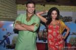 Vivek Oberoi And Mallika Sherawat Promoting Kismet (Kismat) Love Paisa Dilli Movie At Pritam Da Dhaba Pic 5