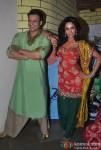 Vivek Oberoi And Mallika Sherawat Promoting Kismet (Kismat) Love Paisa Dilli Movie At Pritam Da Dhaba Pic 6