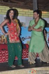 Vivek Oberoi And Mallika Sherawat Promoting Kismet (Kismat) Love Paisa Dilli Movie At Pritam Da Dhaba Pic 7