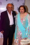 Yash Chopra and Pamela Chopra Attends The Store Launch Of Sherle Wagnerr