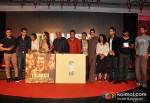 Aamir Khan, Ritesh Sidhwani, Reema Kagti, Rani Mukerji, Javed Akhtar, Bhushan Kumar, Ram Sampath, Sona Mohapatra, Zoya Akhtar, Raj Kumar Yadav And Farhan Akhtar At Talaash Movie Music Launch