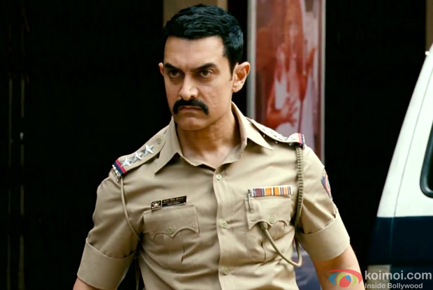 Aamir Khan as a Cop in a Still from Talaash Movie