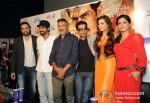 Abhay Deol, Arjun Rampal, Prakash Jha, Manoj Bajpai, Esha Gupta And Anjali Patil Promoting Chakravyuh Movie In Delhi Pic 5