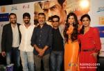 Abhay Deol, Arjun Rampal, Prakash Jha, Manoj Bajpai, Esha Gupta And Anjali Patil Promoting Chakravyuh Movie In Delhi Pic 3